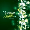sfondo Natale verde – Christmas lights background