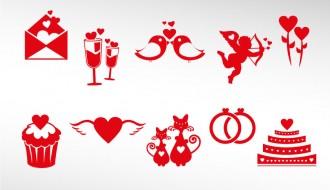10 icone San Valentino – Valentines icons