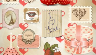 San Valentino set – love elements