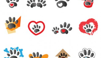 orme animali – animal footprints design