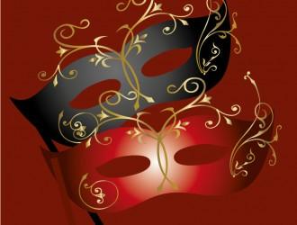 2 maschere Carnevale – 2 Carnival masks