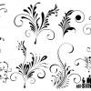 8 elegant floral ornaments – ornamenti floreali