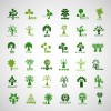 icone alberi – creative ecology tree icons