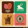 4 bigliettini Pasqua – Happy Easter Cards