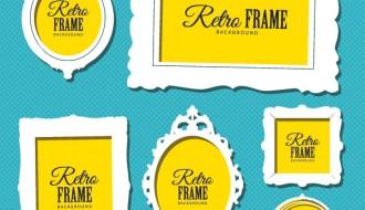 6 retro frames – cornici antiche
