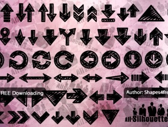 frecce – hand drawn arrows