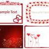 4 biglietti amore cuore – love cards