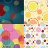 4 pattern cerchi – 4 seamless circle pattern