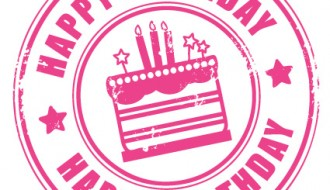 timbro compleanno – stamp happy birthday