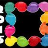 2015 calendario – bubble calendar