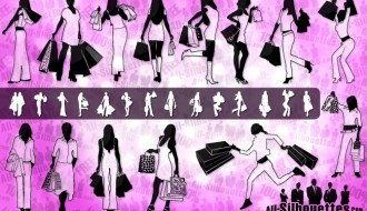 28 sagome donne shopping – shopping girls