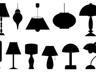 11 lampade, lampadari – lamps, chandeliers