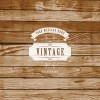 sfondo legno – vintage label on wooden background