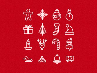 16 icone Natale – 16 Christmas icons
