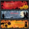 3 banner Halloween – Halloween night banner