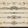 5 divisori decorativi – thin stylish dividers set