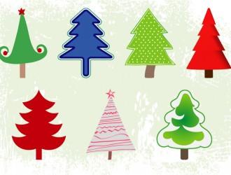 7 alberi Natale – Christmas trees