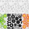 pattern fiori – flowers buds pattern