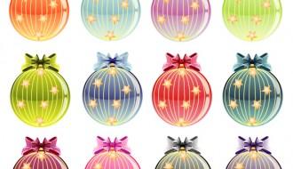 12 palline Natale – Christmas Baubles