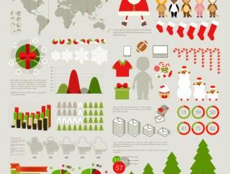 Infografica Natale – Christmas Infographics