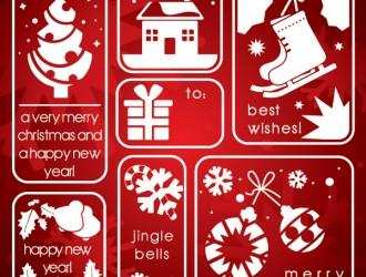 7 oggetti natalizi – Christmas elements