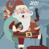 Babbo Natale sul comignolo – Christmas Santa Claus over chimney