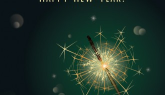 happy new year sparkler – scintille anno nuovo