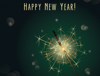 happy new year sparkler – scintille anno nuovo