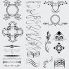 28 elementi decorativi – decorative celtic gothic arabic elements