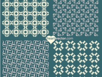 4 pattern decorativi – ornament patterns