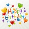 happy birthday heart ballons – buon compleanno palloncini cuore