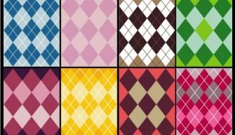 8 pattern rombi – rhombus pattern