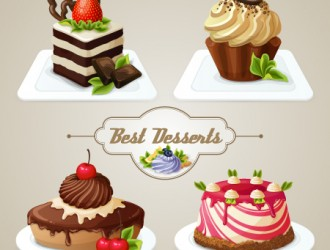 4 dolci – 4 desserts