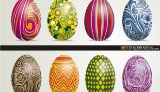 8 Easter Eggs – uova di Pasqua decorate_01