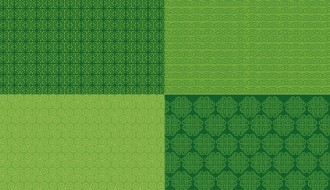 pattern San Patrizio – 4 St. Patrick green background patterns