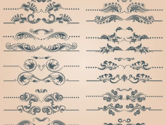 20 elementi decorativi – decorative elements with page decoration
