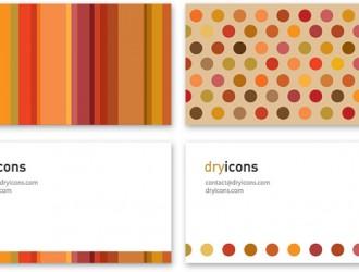 2 bigliettini da visita fronte retro – business cards