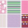 6 pattern – 6 colorful pattern