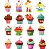 16 dolcetti, cupcake, muffin