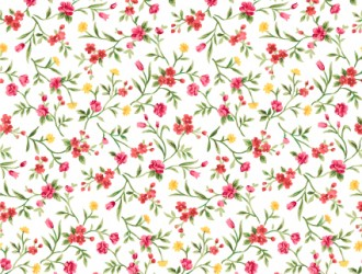 pattern fiori – floral pattern with flowers in watercolor style