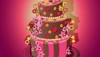 vintage birthday cake – torta compleanno vintage