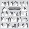 28 sagome sposi – wedding silhouettes