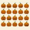 20 zucche – Halloween Pumpkins