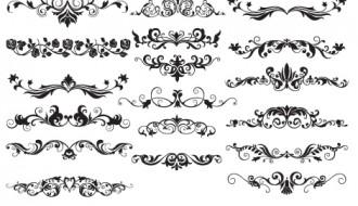 18 divisori floreali – floral dividers