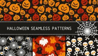 4 pattern Halloween