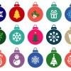 15 palline Natale – Christmas balls