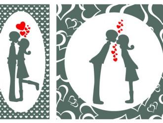 2 coppie innamorati – lovers