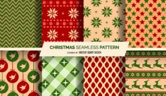 8 pattern Natale – Christmas pattern