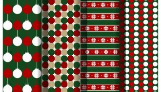 4 pattern Natale – Christmas pattern