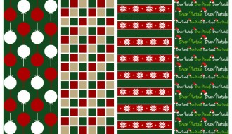 4 pattern Natale – Christmas patterns